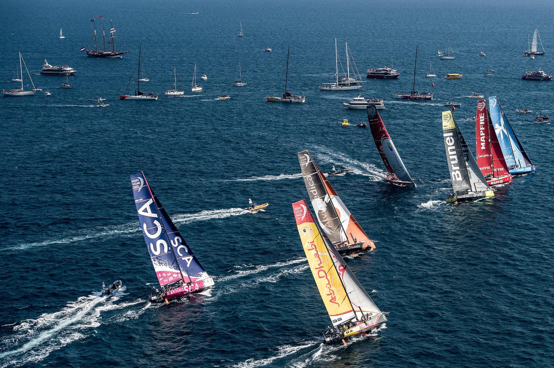 Alicante In-Port Race results| Volvo Ocean Race 2014-2015